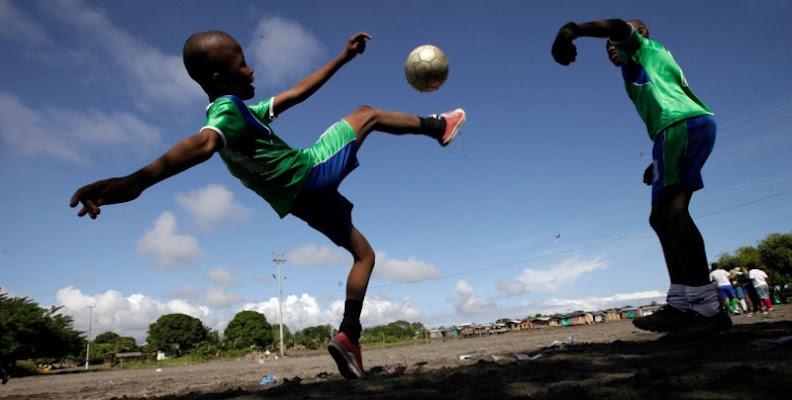 il calcio nel cuore di fabry_e_eva_principato