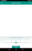 Screenshot of Clap to Find