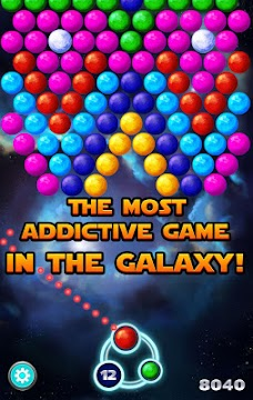 Bubble Shooter Cosmic - screenshot
