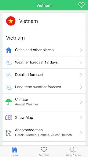 越南天氣,旅行