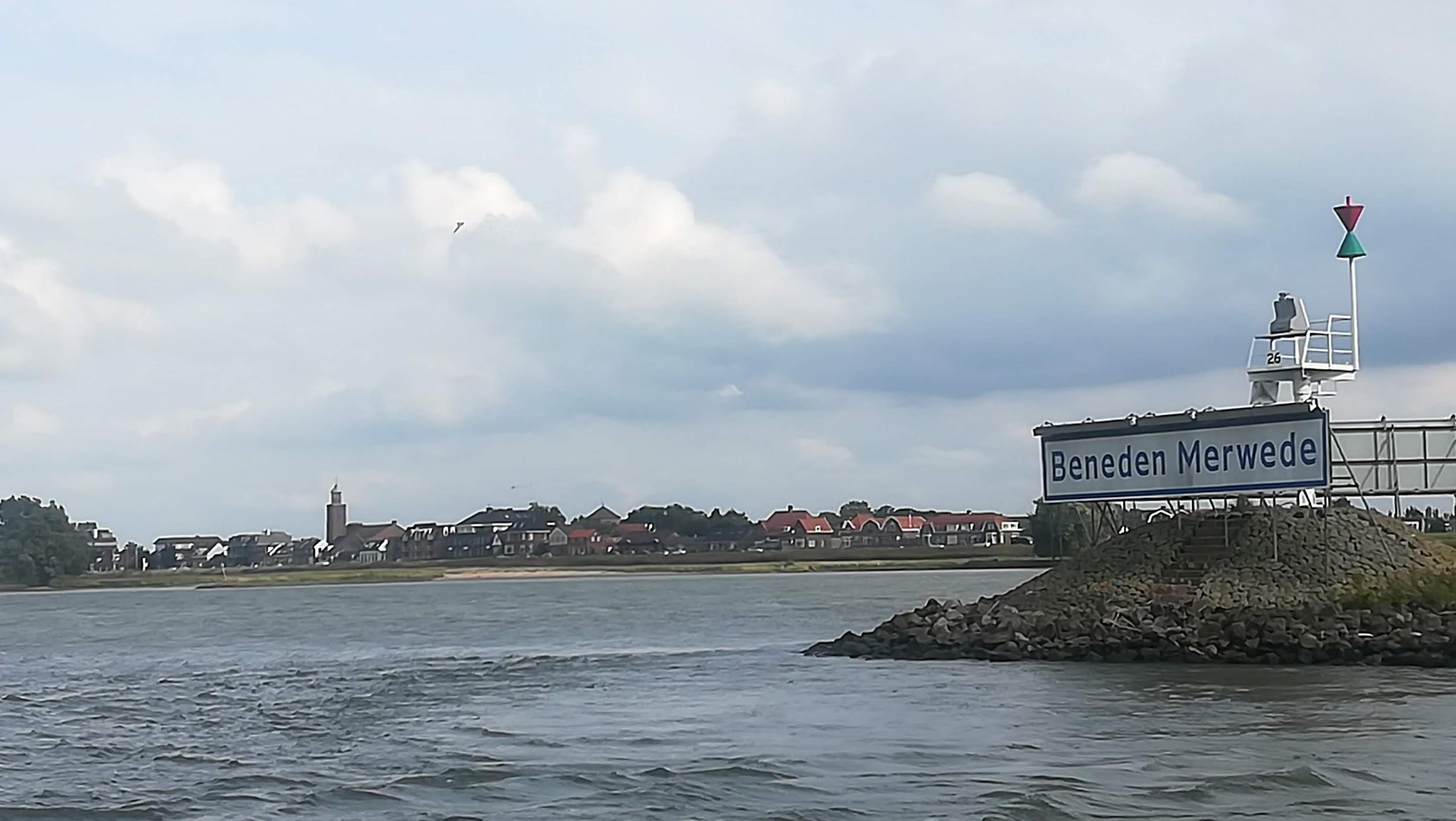 Werkendam, aan de kop van de Nieuwe Merwede