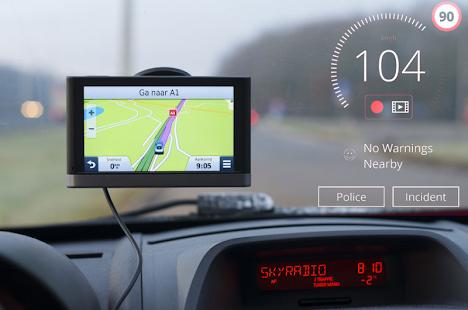 Speed Cameras Radar & Traffic Navigation - náhled