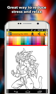 DBS Coloring book Art - náhled