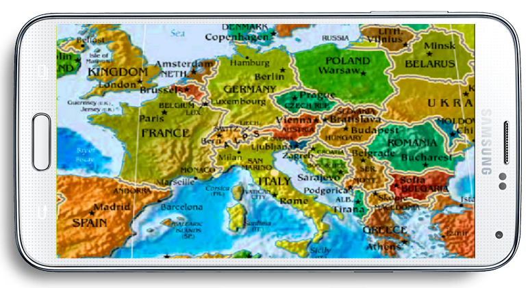 Political world map offline android apps on google play political world map offline screenshot gumiabroncs Image collections