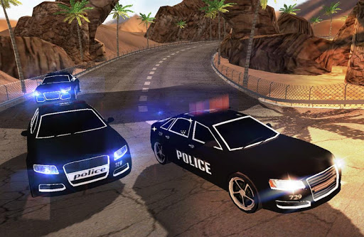 Police Car Racer fast
