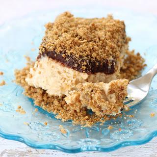 Frozen Peanut Butter Crunch Cake.