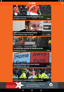 LTFC News - Fan App- screenshot thumbnail