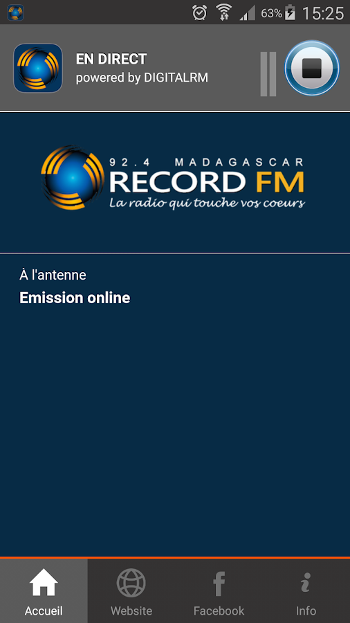 Record FM Madagascar- screenshot