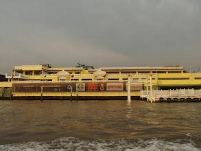 Photo: Bateau bus sur le Chao Phraya  - Bangkok