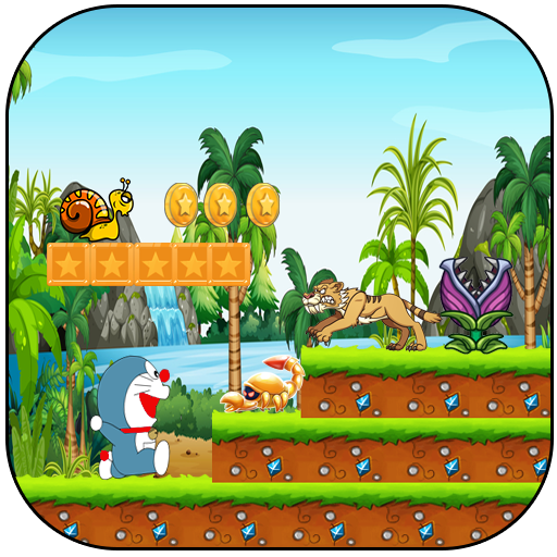 Super Doramon Jungle world