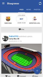 FC Barcelona Blaugranas- screenshot thumbnail