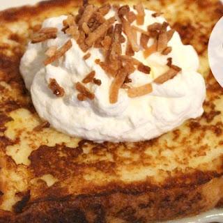Coconut Cream Pie French Toast.