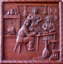 Photo: Tamaño: 34 x 34 cm. || Talla en madera. Woodcarving.   Puedes conocer más de este artista en el blog: http://tallaenmadera-woodcarving-esculturas.blogspot.com/