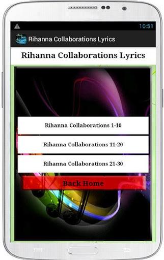 Rihanna Collaborations Lyrics