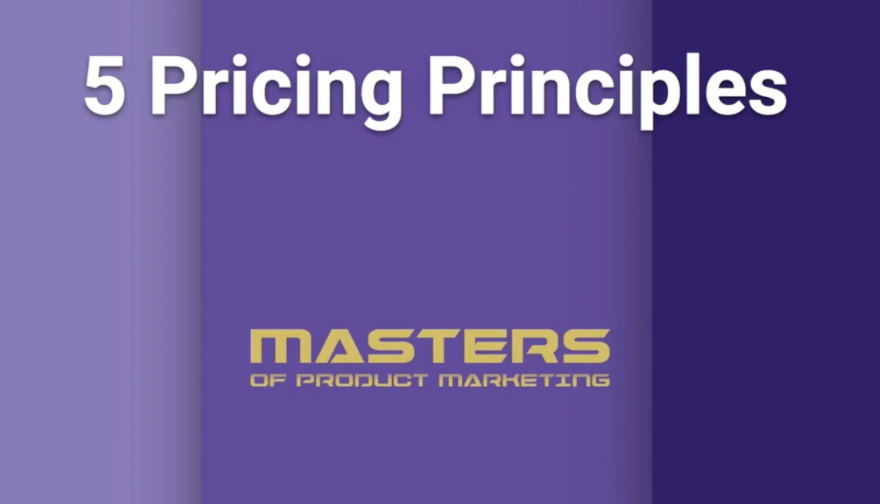 Phill Agnew outlines the 5 pricing principles.
