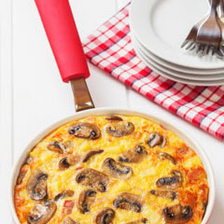 Mushroom and Broccoli Frittata