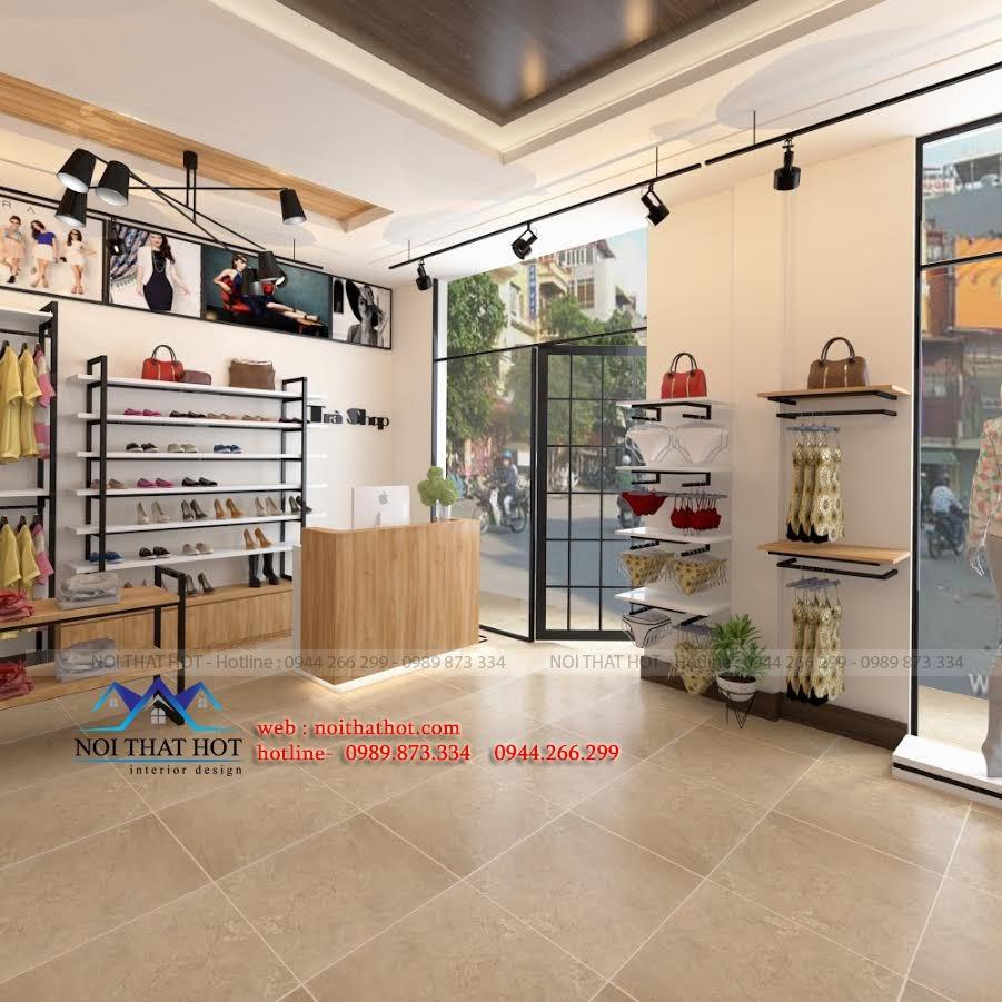 thiết kế shop thời trang nữ tại mỹ đình