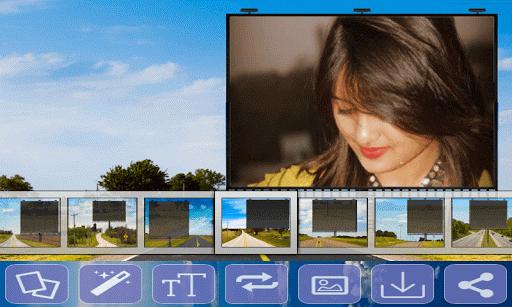 Road Hoarding Photo Frames