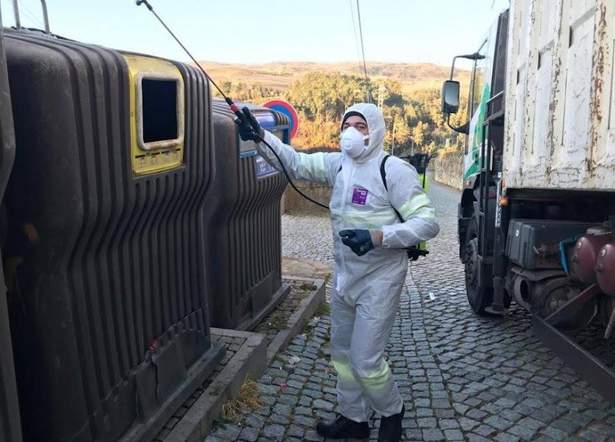 Município de Lamego reforça ações de desinfeção