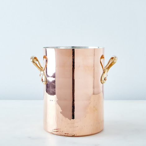 Vintage Copper Stockpot, Early 20th Century