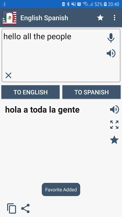 English Spanish Translator – (Android Apps) — AppAgg