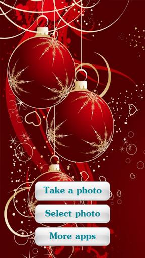 相框找到照片了-圣诞