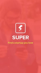 Super- find a startup you love - screenshot thumbnail