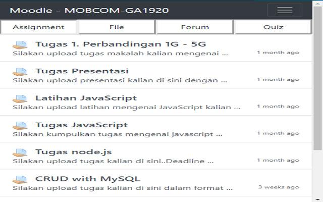 Moodle 3.1 Extension