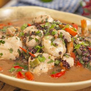 Moqueca De Peixe (Fish Stew).