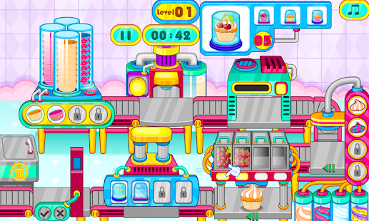 Game Cooking cupcakes factory APK for Windows Phone