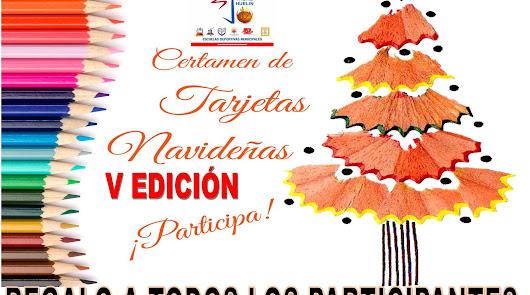 Concurso de Tarjetas Navideñas de la EDM Padre Huelin repartirá material escolar