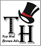 Logo of Crooked Eye Top Hat Brown Ale