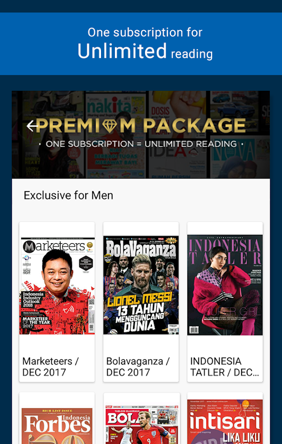 Gramedia Digital- screenshot