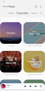 Download Samsung Music app based on One UI theme [APK] | Gadget Headline