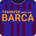 Transfer News for Barcelona icon