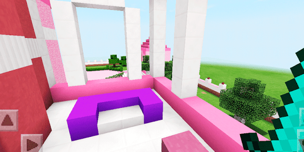 Luxurious Pink House. Map for MCPE – Apps on Google Play
