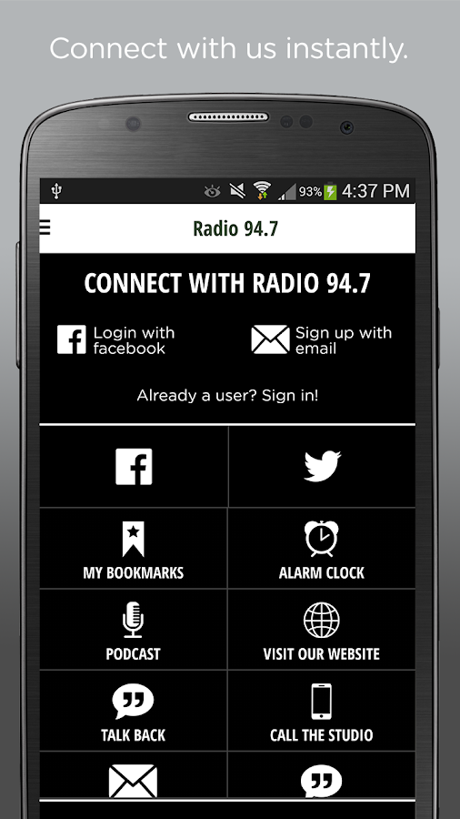 RADIO 94.7 – KKDO- screenshot