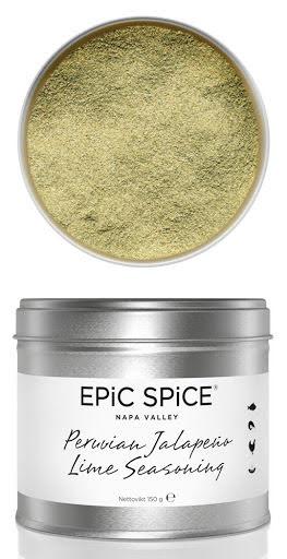 Peruvian Jalapeño Lime Seasoning – Epic Spice