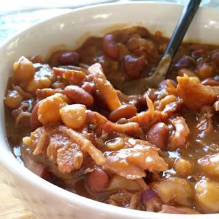 Cajun Ham & Beans.