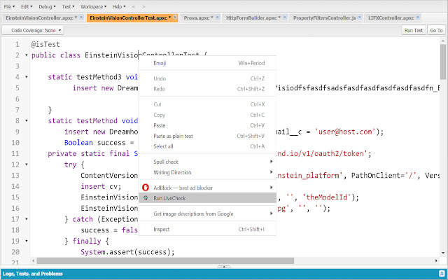 Quality Clouds Live Check for Salesforce