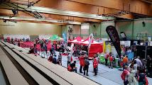 Photo: Ein Blick in die Messehalle am Freitag, kurz nach der Eröffnung