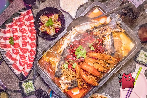 新莊麻辣鍋》水貨烤魚|小龍蝦上線啦,高CP值炸全雞必點!