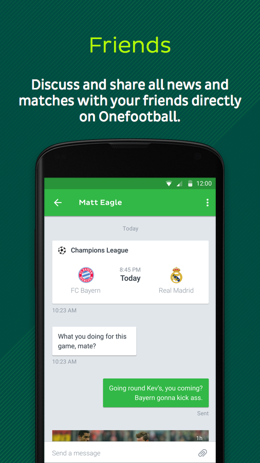 Onefootball - Pure Soccer!- screenshot
