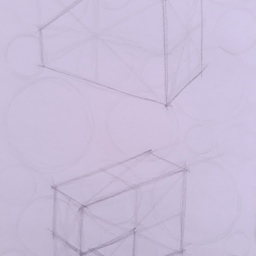 Picture of a drawing of boxes