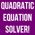 Quadratic Solver Exact Answer icon