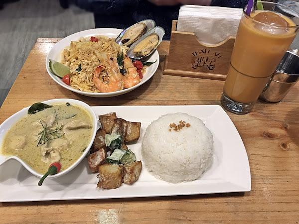 圖圖咖啡館Tuk Tuk Thai Cafe─桃園中壢─熱門─泰式─裝潢美氣氛佳