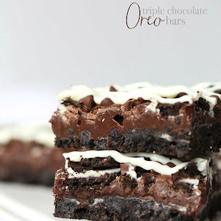 Triple Chocolate Oreo Bars