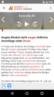 News in Slow German - náhled