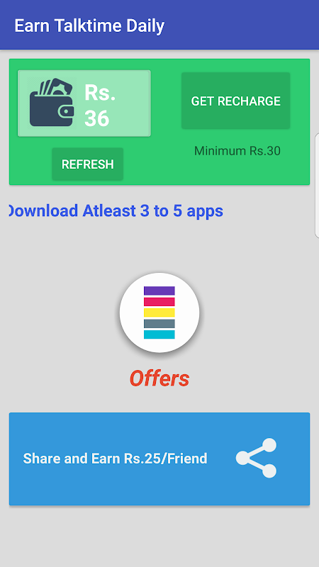 Free Recharge to PayTM wallet APK 2 0 Download - Free Entertainment