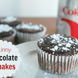 Skinny Chocolate Cupcakes (only 80 calories each!)